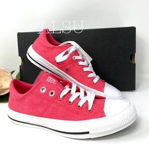 Converse Ctas Madison Canvas Low Top Strawberry W